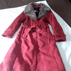 Wiman women's trench coat.